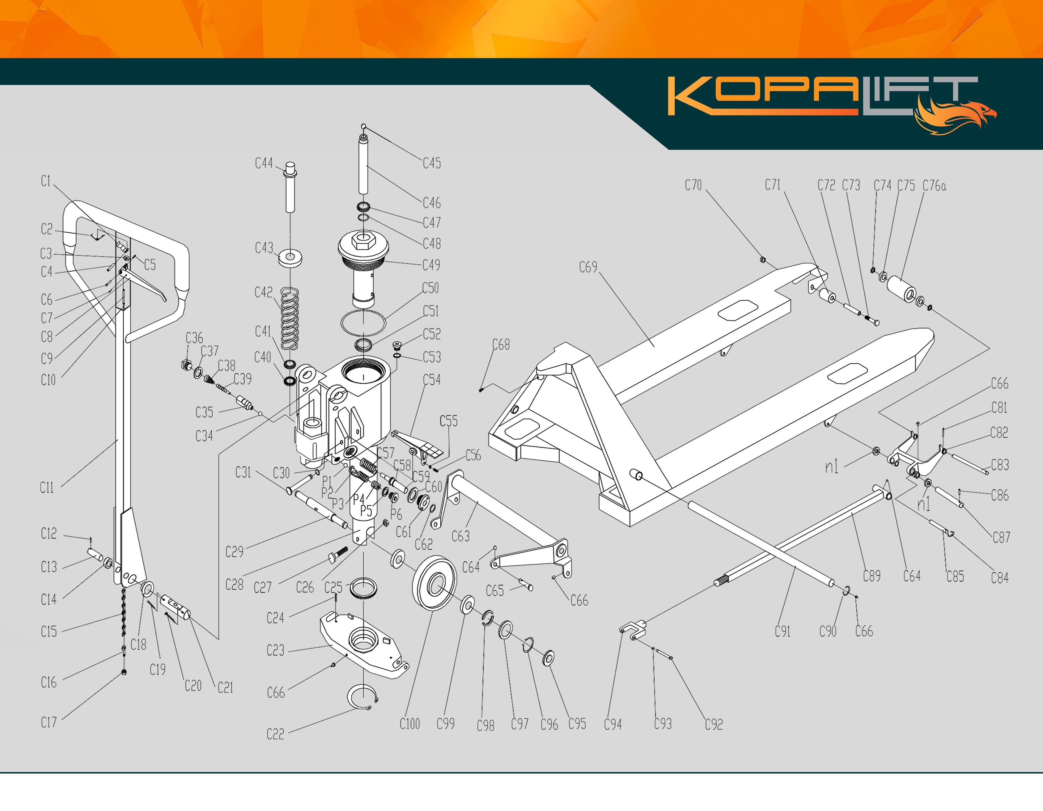 KPT Parts Manual